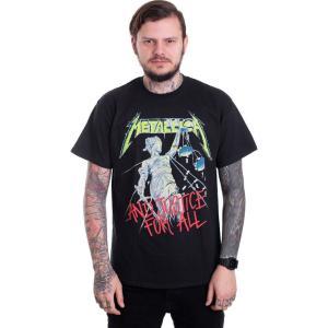インペリコン Impericon メンズ Tシャツ トップス - And Justice For All (Original) - T-Shirt black|fermart-hobby