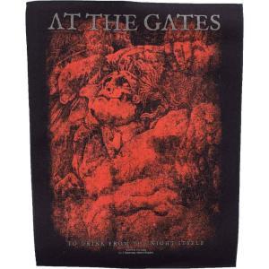 アット ザ ゲイツ At The Gates ユニセックス 雑貨 To Drink From The Night Itself Backpatch black|fermart-hobby