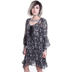 キルスター Killstar レディース ワンピース ワンピース・ドレス New Moon Babydoll Black Dress black|fermart-hobby