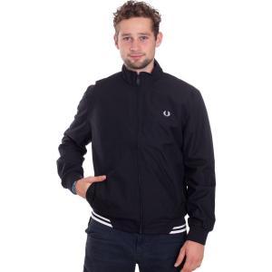 フレッドペリー Fred Perry メンズ ジャケット アウター - Twin Tipped Sports Black - Jacket black|fermart-hobby
