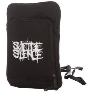 スーサイド サイレンス Suicide Silence ユニセックス バッグ Logo Travel Bag black|fermart-hobby