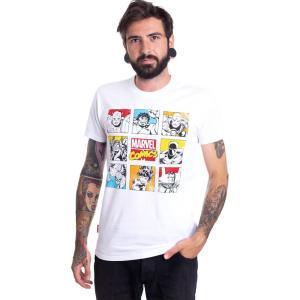 インペリコン Impericon メンズ Tシャツ トップス - Retro Character - T-Shirt white|fermart-hobby