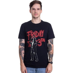 インペリコン Impericon メンズ Tシャツ トップス - Jason Voorhees - T-Shirt black|fermart-hobby