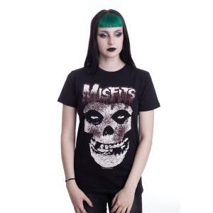 インペリコン Impericon レディース Tシャツ トップス - Blood Drip Skull - T-Shirt black|fermart-hobby