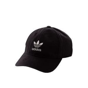 アディダス Adidas ユニセックス キャップ 帽子 Adilcolor Washed Black/White Cap black|fermart-hobby