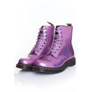 ドクターマーチン Dr. Martens レディース ブーツ シューズ・靴 - 1460 Pascal Vegan Pink Prysm pink|fermart-hobby