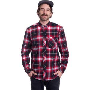 カーハート Carhartt WIP メンズ シャツ トップス - L/S Phil Check Etna Red - Shirt multicolored|fermart-hobby