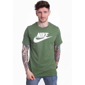 ナイキ Nike メンズ Tシャツ トップス - Sportswear Treeline/White - T-Shirt green fermart-hobby