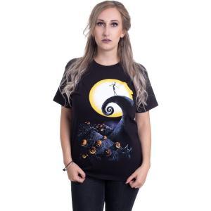 インペリコン Impericon レディース Tシャツ トップス - Cemetery Moon - T-Shirt black|fermart-hobby