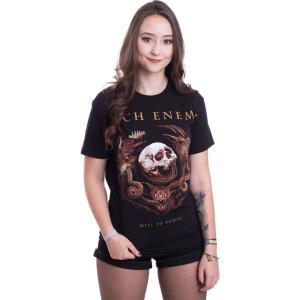 インペリコン Impericon レディース Tシャツ トップス - Will To Power Snake - T-Shirt black|fermart-hobby