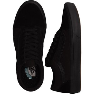 ヴァンズ Vans レディース スケートボード シューズ・靴 - ComfyCush Old Skool (Classic) Black/Black - Shoes black|fermart-hobby