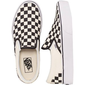 ヴァンズ Vans レディース スリッポン・フラット シューズ・靴 - Classic Slip-On Platform Black And White Checker/White - Shoes black|fermart-hobby