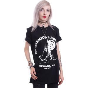 インペリコン Impericon レディース Tシャツ トップス - Haunted Castle - T-Shirt black|fermart-hobby