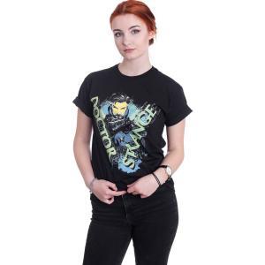 インペリコン Impericon レディース Tシャツ トップス - Strange - T-Shirt black fermart-hobby