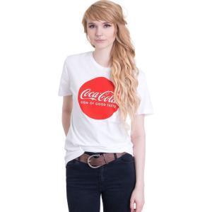 インペリコン Impericon レディース Tシャツ トップス - Round Logo White - T-Shirt white|fermart-hobby