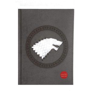 ゲーム オブ スローンズ Game Of Thrones グッズ Stark With Light Notebook grey|fermart-hobby