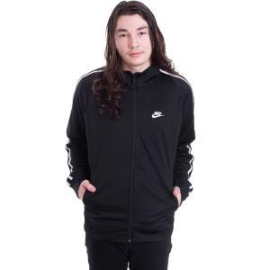 ナイキ Nike メンズ ジャケット アウター Sportswear N98 Black/White Track Jacket black fermart-hobby