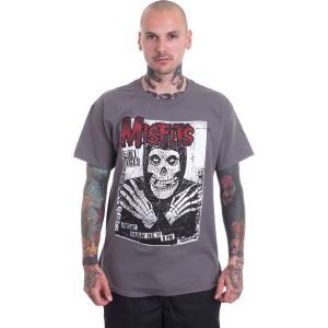 インペリコン Impericon メンズ Tシャツ トップス - All Ages Skeleton Charcoal - T-Shirt grey|fermart-hobby