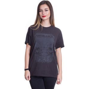 インペリコン Impericon レディース Tシャツ トップス - The Black Album Charcoal - T-Shirt grey|fermart-hobby