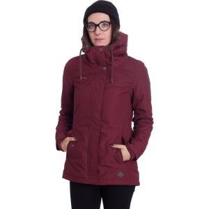 ラグウェア Ragwear レディース ジャケット アウター Monade Wine Red Jacket burgundy|fermart-hobby