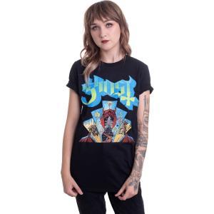 インペリコン Impericon レディース Tシャツ トップス - Devil Window - T-Shirt black|fermart-hobby