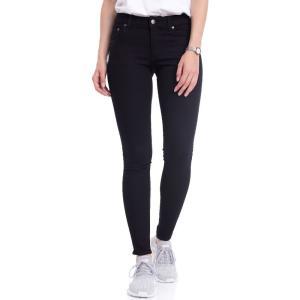 チープマンデー Cheap Monday レディース ジーンズ・デニム ボトムス・パンツ Low Skin Pure Black Jeans black|fermart-hobby