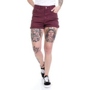 ドクターデニム Dr. Denim レディース ショートパンツ ボトムス・パンツ Jenn Ruthless Red Shorts burgundy|fermart-hobby
