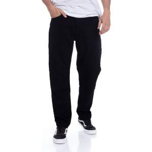 カーハート Carhartt WIP メンズ ボトムス・パンツ - Master Denison Black Rinsed - Pants black|fermart-hobby