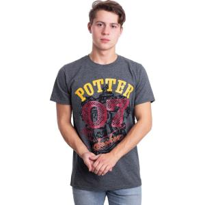 インペリコン Impericon メンズ Tシャツ トップス - Potter Seeker - T-Shirt grey fermart-hobby