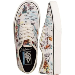 ヴァンズ Vans レディース スケートボード シューズ・靴 - Authentic Sf (Kide) Clscwht/Marshmallow - Shoes multicolored|fermart-hobby