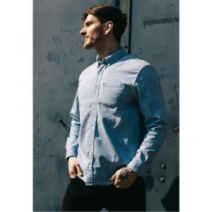 カーハート Carhartt WIP メンズ シャツ トップス - Civil Blue Bleached - Shirt blue|fermart-hobby