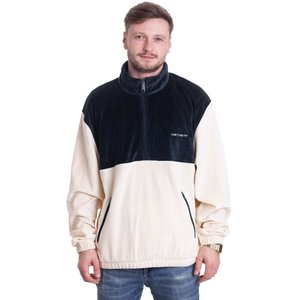 カーハート Carhartt WIP メンズ ニット・セーター トップス - Tila Flour/Duck Blue - Pullover beige|fermart-hobby