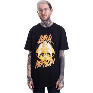 インペリコン Impericon メンズ Tシャツ トップス - Bird Person - T-Shirt black fermart-hobby