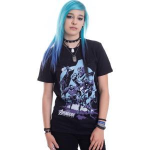 インペリコン Impericon レディース Tシャツ トップス - Thanos Grip Endgame - T-Shirt black fermart-hobby