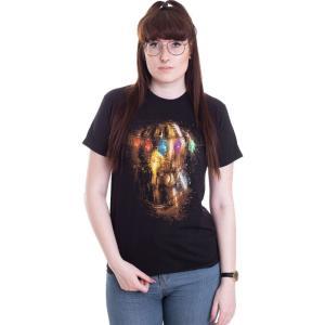 インペリコン Impericon レディース Tシャツ トップス - Thanos Fist - T-Shirt black fermart-hobby