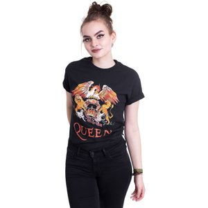 インペリコン Impericon レディース Tシャツ トップス - Classic Crest - T-Shirt black|fermart-hobby