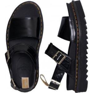 ドクターマーチン Dr. Martens レディース サンダル・ミュール シューズ・靴 - Vegan Voss Black Oxford black|fermart-hobby