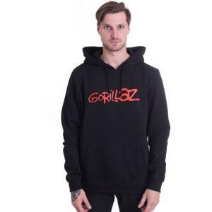 ゴリラズ Gorillaz メンズ パーカー トップス Logo Hoodie black|fermart-hobby