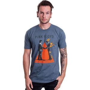 インペリコン Impericon メンズ Tシャツ トップス - Handshake Indigo - T-Shirt blue|fermart-hobby