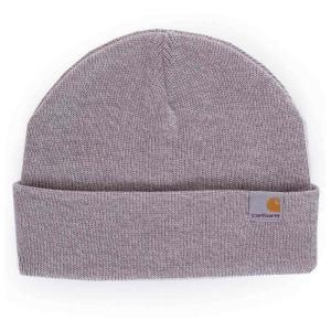 カーハート Carhartt WIP ユニセックス ニット 帽子 Stratus Hat Low Grey Heather Beanie grey|fermart-hobby