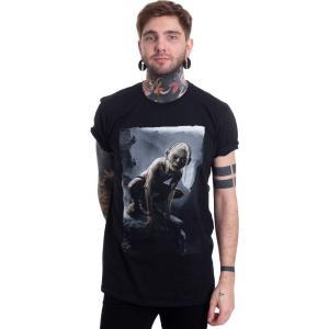 インペリコン Impericon メンズ Tシャツ トップス - Gollum - T-Shirt black fermart-hobby