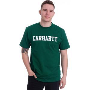 カーハート Carhartt WIP メンズ Tシャツ トップス - College Dragon/White - T-Shirt green|fermart-hobby