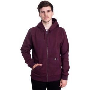 ディッキーズ Dickies メンズ パーカー トップス - New Kingsley Through Maroon - Zipper burgundy fermart-hobby