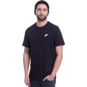 ナイキ Nike メンズ Tシャツ トップス - Sportswear Black/White - T-Shirt black fermart-hobby