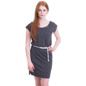 ラグウェア Ragwear レディース ワンピース ワンピース・ドレス Sofia Black Dress grey|fermart-hobby