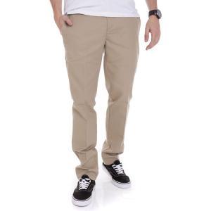 ディッキーズ Dickies メンズ スキニー・スリム ワークパンツ ボトムス・パンツ - Slim Fit Work 872 Khaki - Pants beige fermart-hobby