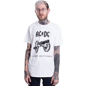 インペリコン Impericon メンズ Tシャツ トップス - For Those About To Rock White - T-Shirt white|fermart-hobby