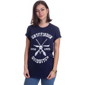 インペリコン Impericon レディース Tシャツ トップス - Captain H Potter - T-Shirt blue fermart-hobby