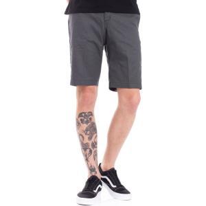 ディッキーズ Dickies メンズ ショートパンツ ボトムス・パンツ Industrial Walk Charcoal Grey Shorts grey|fermart-hobby