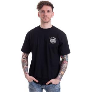 サンタクルーズ Santa Cruz メンズ Tシャツ トップス Ringed Dot Black T-Shirt black|fermart-hobby